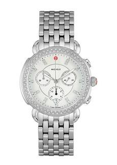 Michele Women's Sidney Diamond Watch