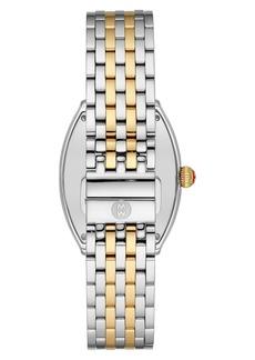 Michele Relevé Diamond Two-Tone Watch Head & Interchangeable Bracelet, 31mm x 32mm