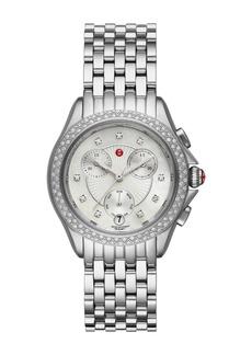 Michele Women's Belmore Diamond Accent Bracelet Watch, 37mm - 0.38 ctw