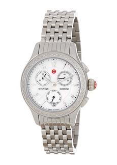 Michele Women's Jetway Diamond Bracelet Watch, 36mm - 0.40 ctw
