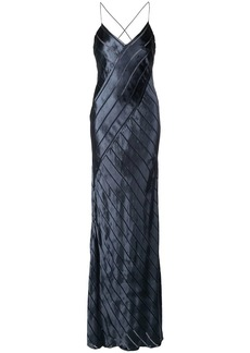 Michelle Mason bias cut gown