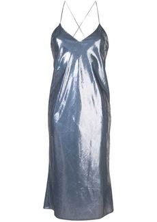 Michelle Mason bias midi dress
