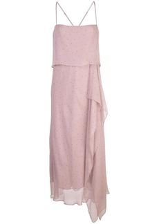 Michelle Mason double layer midi dress