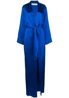 Michelle Mason kimono tie gown