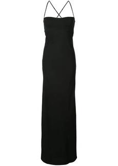 Michelle Mason long bustier dress