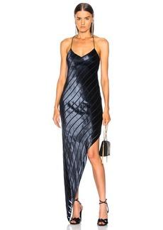 Michelle Mason Asymmetrical Bias Dress