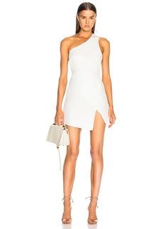 Michelle Mason Back Strap Mini Dress