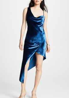 Michelle Mason Cowl Maxi Dress