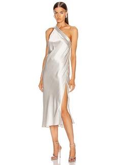 Michelle Mason Crystal Midi Dress