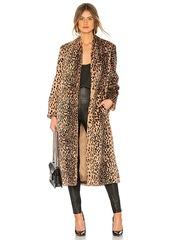 Michelle mason michelle mason faux fur coat abv6ac927f6 a