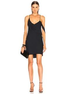 Michelle Mason for FWRD Mini Dress with Draped Cowl Neck