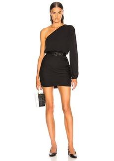Michelle Mason for FWRD One Sleeve Mini Dress