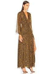 6bcf2b42e34f Michelle Mason Long Sleeve Plunge Gown Michelle Mason Long Sleeve Plunge  Gown