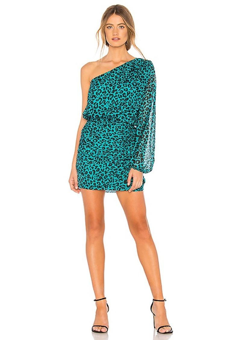 26ae11e0b01b Michelle Mason Michelle Mason One Sleeve Mini Dress