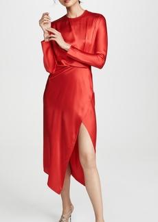 Michelle Mason Origami Midi Dress