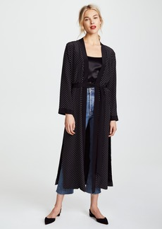 Michelle Mason Robe with Slits