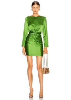 Michelle Mason Ruched Mini Dress