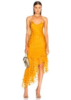Michelle Mason Ruffle Cami Dress