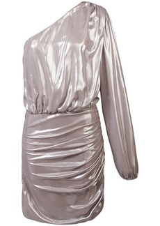Michelle Mason one sleeve mini dress