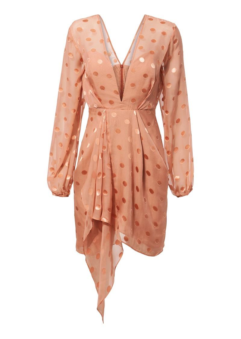 17c715f727dc4 Michelle Mason Polka Dot Mini Dress   Dresses