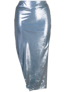 Michelle Mason side slit skirt