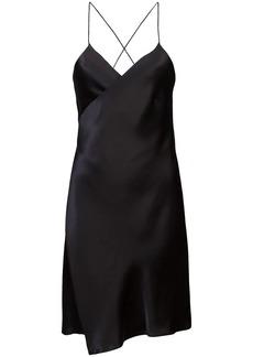 Michelle Mason wrap mini dress