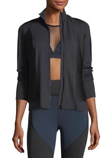 MICHI Ignite Mock-Neck Zip-Front Performance Jacket