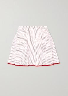 Miguelina Jay Polka-dot Swim Skirt