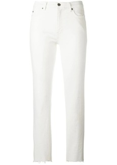 MiH Jeans bootcut cropped jeans