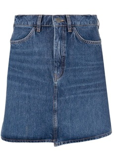 MiH Jeans button front short skirt