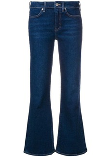 MiH Jeans flared cropped jeans