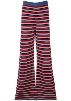 MiH Jeans Ladybird knit flared trousers
