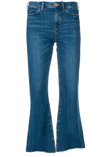 Mih Jeans distressed detail flared jeans - Blue
