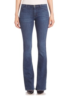 MiH Jeans Marrakesh High-Rise Slim Kick Flare Jeans