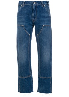 Mih Jeans Phoebe cropped jeans - Blue