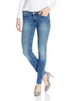 MiH Jeans Women's Breathless Mid Rise Skinny Ankle Stretch Jean