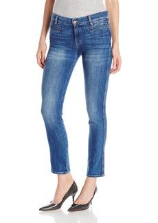 MiH Jeans Women's Paris Mid Rise Cropped Slim Jeans