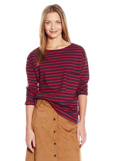 MiH Jeans Women's Slouch Pocket Mariniere