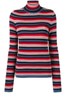MiH Jeans Moonie striped turtleneck sweater