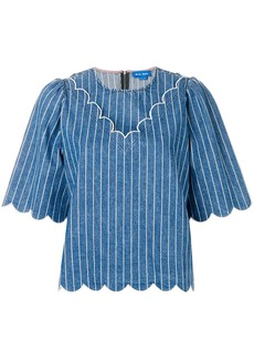 MiH Jeans pinstripe blouse