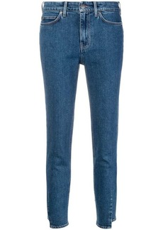 MiH Jeans skinny cropped jeans