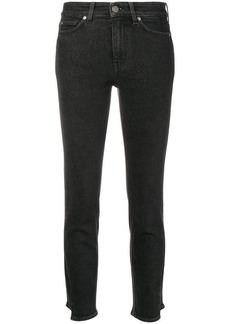 MiH Jeans split hem detail skinny jeans