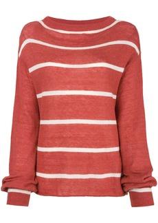 MiH Jeans striped jumper