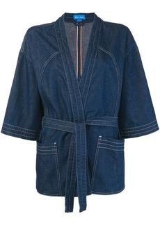 MiH Jeans tie waist kimono jacket