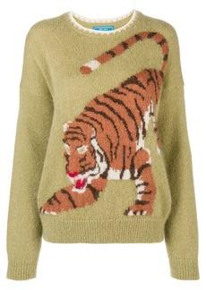 MiH Jeans Tiger intarsia knit cardigan