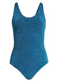 Mikoh Swimwear Mala Metallic One-Piece