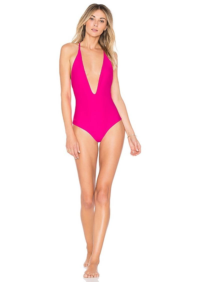 5824dbe10b934 Mikoh Swimwear MIKOH Africa One Piece