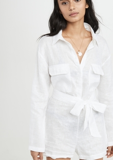Mikoh Swimwear MIKOH Kekaha Button Up Romper