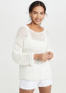 Mikoh Swimwear MIKOH Mehetia Long Sleeve Knit