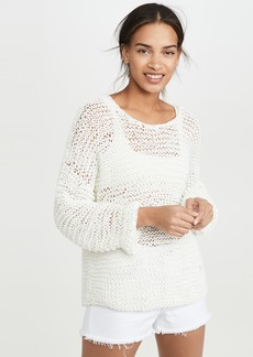 Mikoh Swimwear MIKOH Mehetia Long Sleeve Knit
